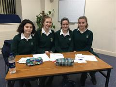 Junior & Senior Irish debate teams