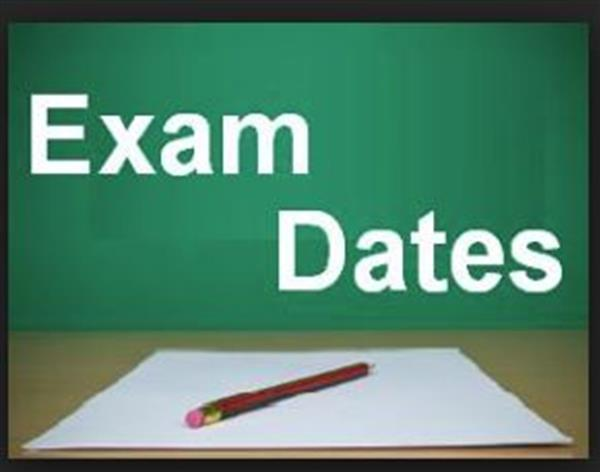 Mock Examinations 2018 timetables