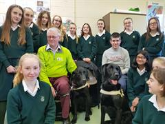 Irish Guide Dogs Visit