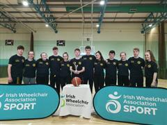 Wheelchair Basketball Leinster Champions