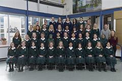 Green Schools Flag for Santa Sabina