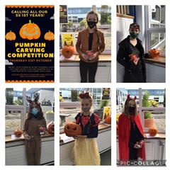 1st Year Pumpkin Carving Competition 2021